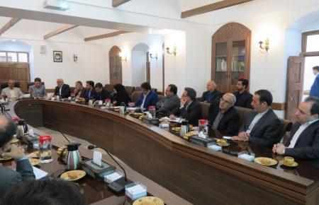 برگزاری نشست سرمایه گذاری استان با دستور کار سرمایه گذاری در مجتمع کاریزلند با حضور استاندار