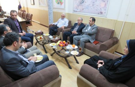دیدار مدیرعامل مخابرات استان با مدیرعامل موسسه کوثر یزد