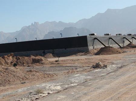 احداث مخزن 5000 متر مکعبی اصلی ذخیره آب کشاورزی