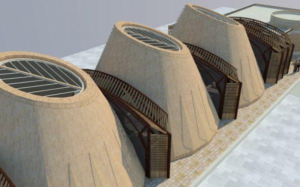 مطالعه و طراحی ساختمان ایستگاه کنترل مرکزی آبهای مجتمع اسکان موقت
