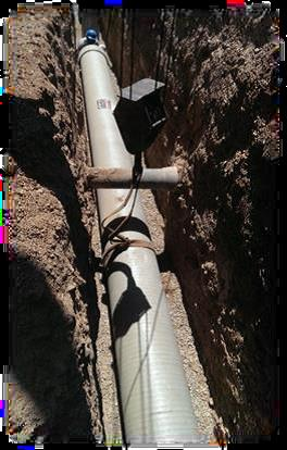 عملیات اجرایی مخزن 5000 مترمکعبی و خط انتقال آب شرب