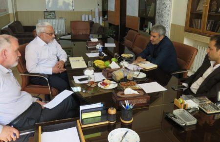 جلسه هیئت مدیره موسسه کوثر یزد با حضور مهندس سید حمید کلانتری معاون وزیر تعاون؛ کار و رفاه اجتماعی