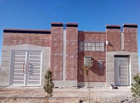 احداث بنا ، محوطه سازی و دیوارکشی ساختمان تجهیزات مخابرات