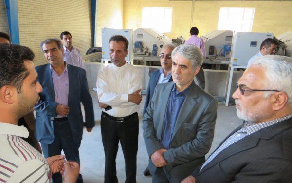 بازدید معاون آب و آبفا وزارت نیرو  از تصفیه خانه تکمیلی موسسه کوثر