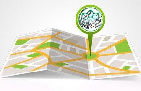 دسترسی سریع به نقشه مجازی قطعات و اراضی مجتمع کاریزلند