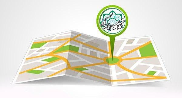 دسترسی سریع به نقشه مجازی قطعات و اراضی مجتمع کاریزبوم