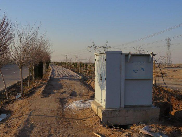 تکمیل رینگ روشنایی مجتمع کاریزلند تا اواخر بهمن ماه