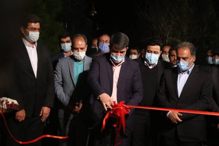 گزارش تصویری از مراسم افتتاح مسیر دوچرخه سواری