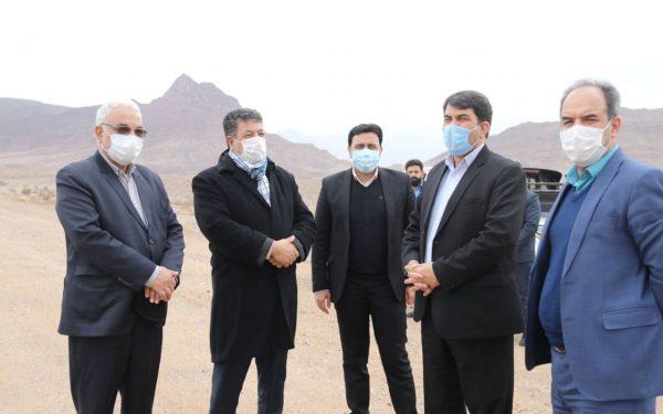 بازدید استاندار یزد از پارک چندصد هکتاری کوثر یزد(کوه کاسه)